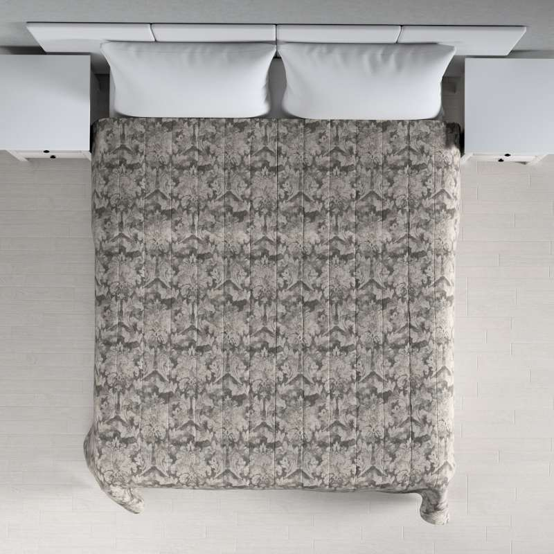 Stripe quilted throw in collection Retro Glam, fabric: 142-88