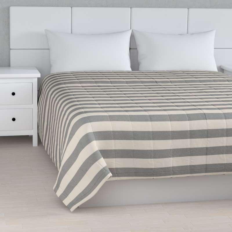 Prehoz na posteľ jednoduchý V kolekcii Quadro, tkanina: 142-71
