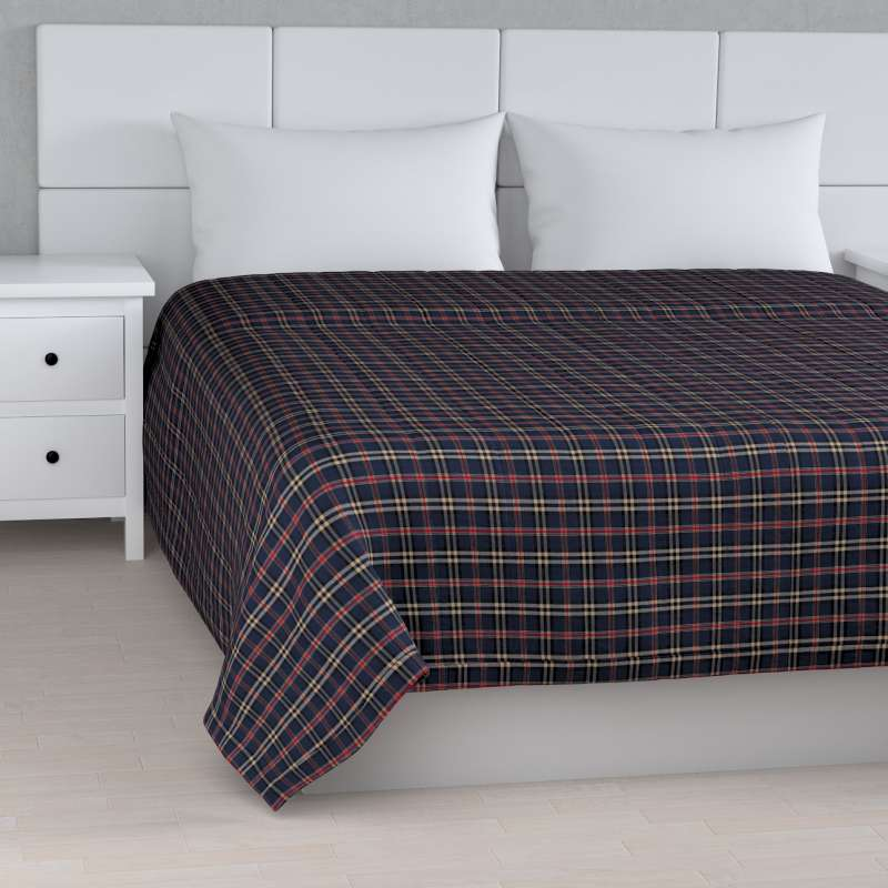Stripe quilted throw in collection Bristol, fabric: 142-68