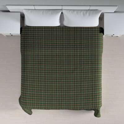 Tagesdecke mit Streifen-Steppung 142-69 grün-rot Kollektion Bristol