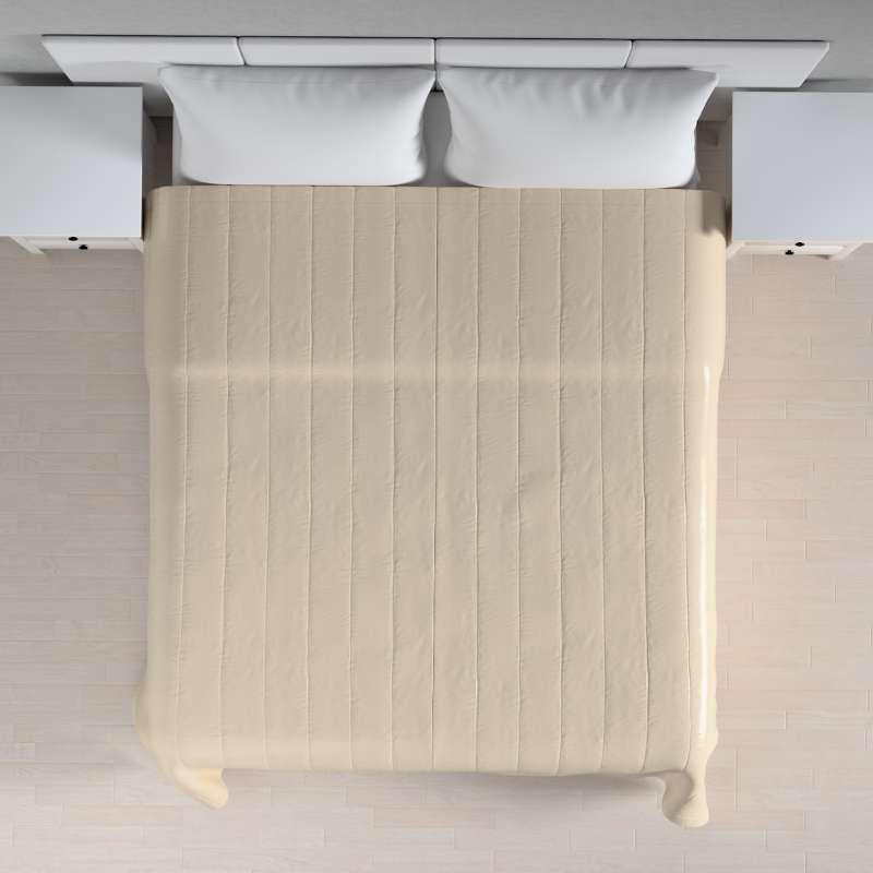 Sengeteppe quiltet<br/>10cm striper fra kolleksjonen Christmas - Nyhet !, Stoffets bredde: 141-73