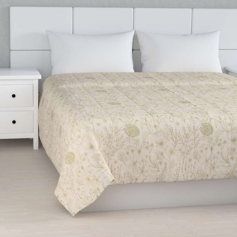 Stripe quilted throw in collection Nordic, fabric: 142-92