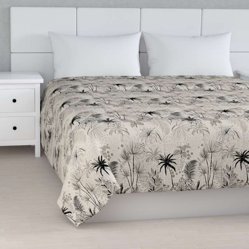 Stripe quilted throw in collection Nordic, fabric: 142-97