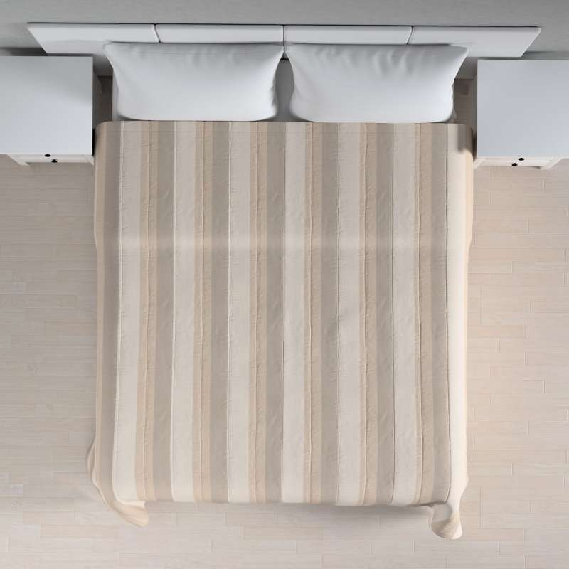 Stripe quilted throw in collection Nordic, fabric: 142-95