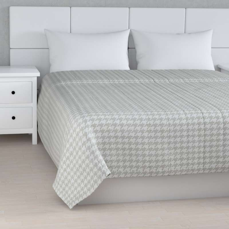 Stripe quilted throw in collection Living, fabric: 160-39