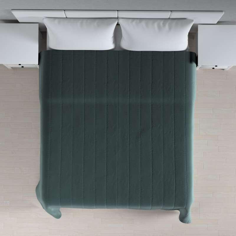 Sengetæppe quiltet<br/>10cm striber fra kollektionen Ingrid, Stof: 705-36