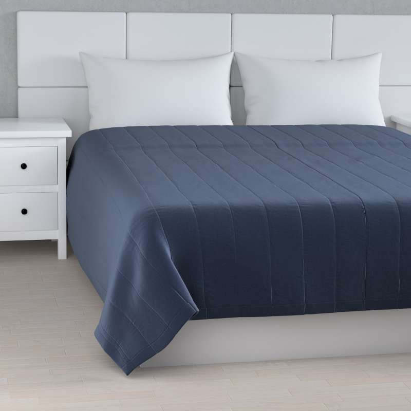 Stripe quilted throw in collection Ingrid, fabric: 705-39