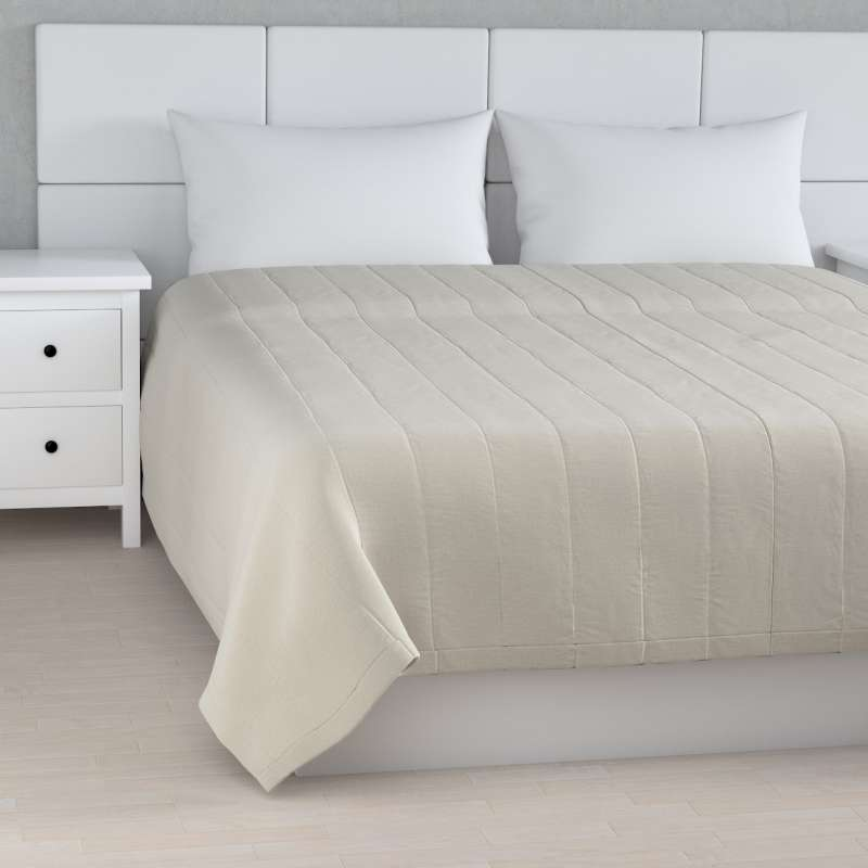 Stripe quilted throw in collection Ingrid, fabric: 705-40