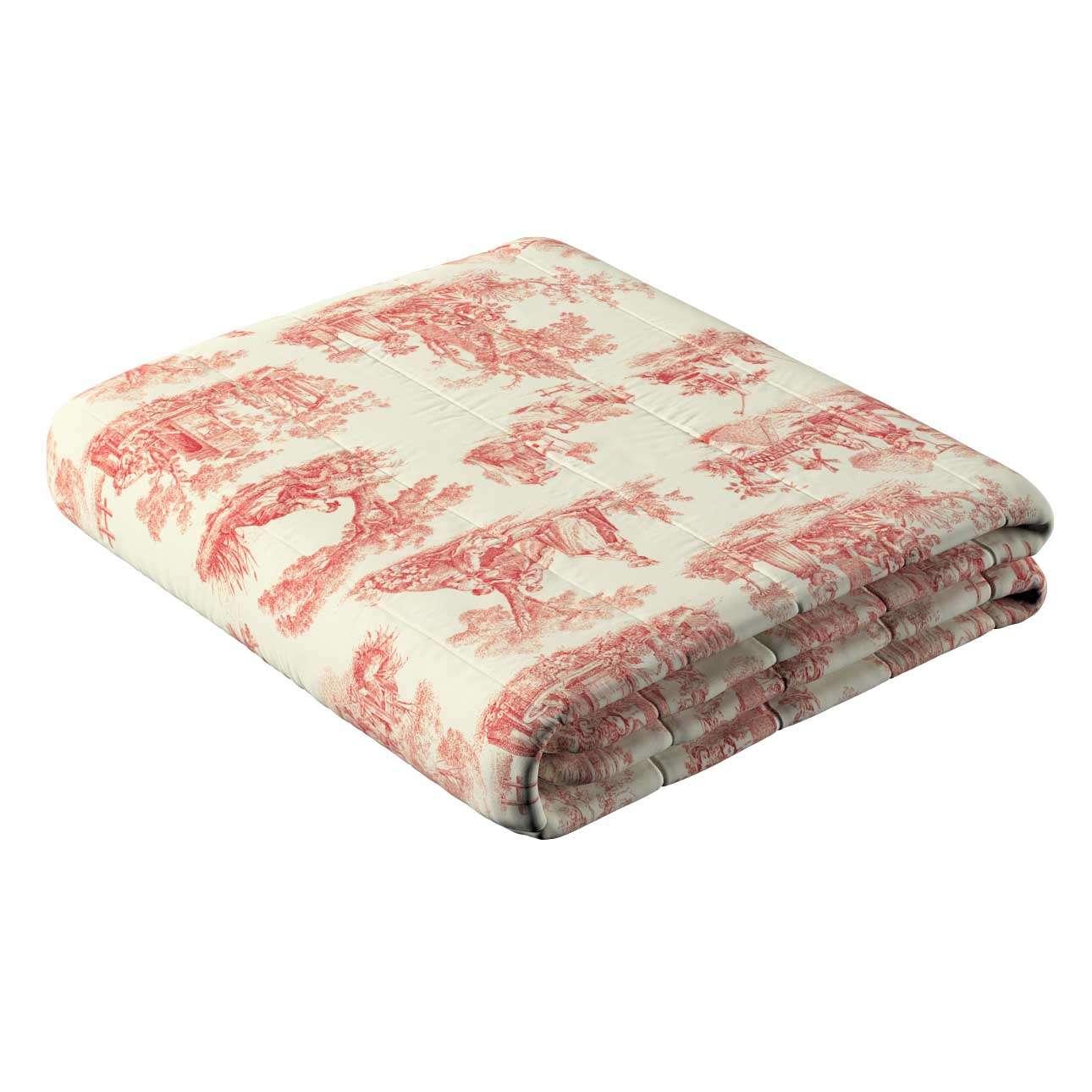 Sengeteppe quiltet<br/>10cm striper 120g/m2 260 x 210 cm fra kolleksjonen Avinon, Stoffets bredde: 132-15