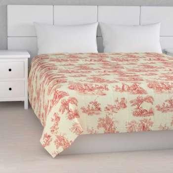 Sengetæppe quiltet<br/>10cm striber 260 x 210 cm fra kollektionen Avinon, Stof: 132-15