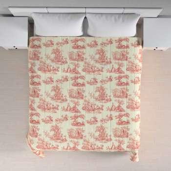 Narzuta pikowana w pasy w kolekcji Avinon, tkanina: 132-15