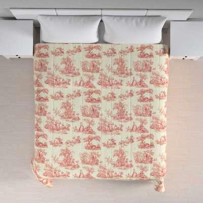 Sengeteppe quiltet<br/>10cm striper fra kolleksjonen Avinon, Stoffets bredde: 132-15