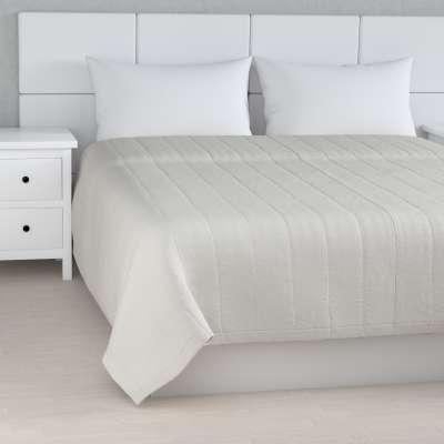 Narzuta pikowana w pasy 159-06 ciepły biały Kolekcja Linen