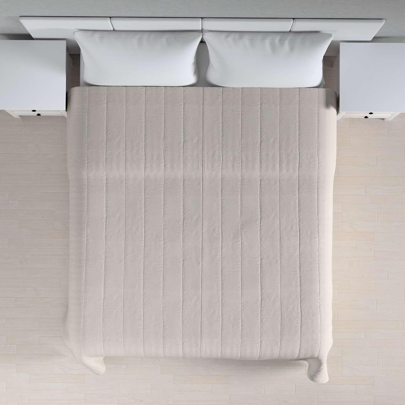 Prehoz  s pozdĺžným prešívaním V kolekcii Linen, tkanina: 159-07