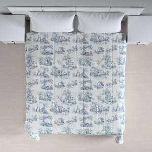 Quilted throw (vertical quilt pattern) 260 x 210 cm (102 x 83 inch) in collection Avinon, fabric: 132-66