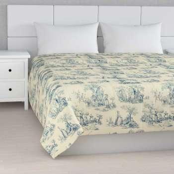 Sengetæppe quiltet<br/>10cm striber 120g/m 260 x 210 cm fra kollektionen Avinon, Stof: 132-66
