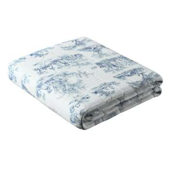 Stripe quilted throw in collection Avinon, fabric: 132-66