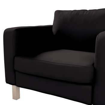 Karlstad armchair cover in collection Panama Cotton, fabric: 702-09