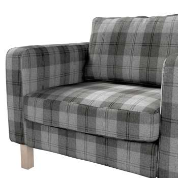 Karlstad armchair cover in collection Edinburgh, fabric: 115-75