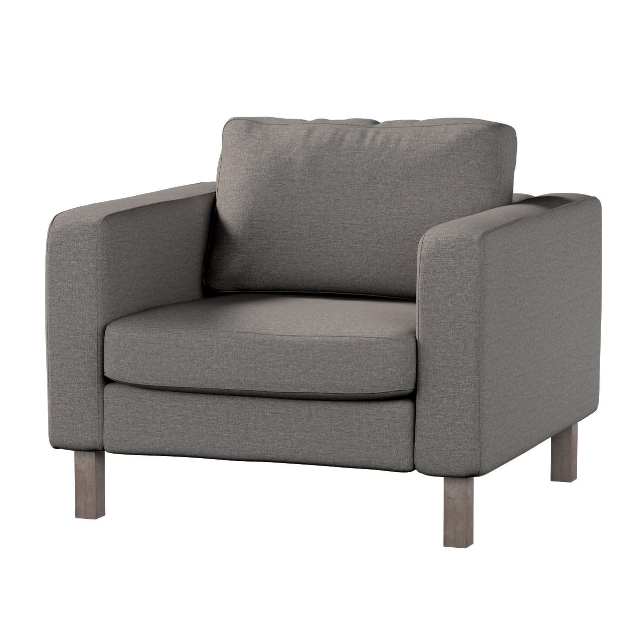 Karlstad armchair cover in collection Edinburgh, fabric: 115-77