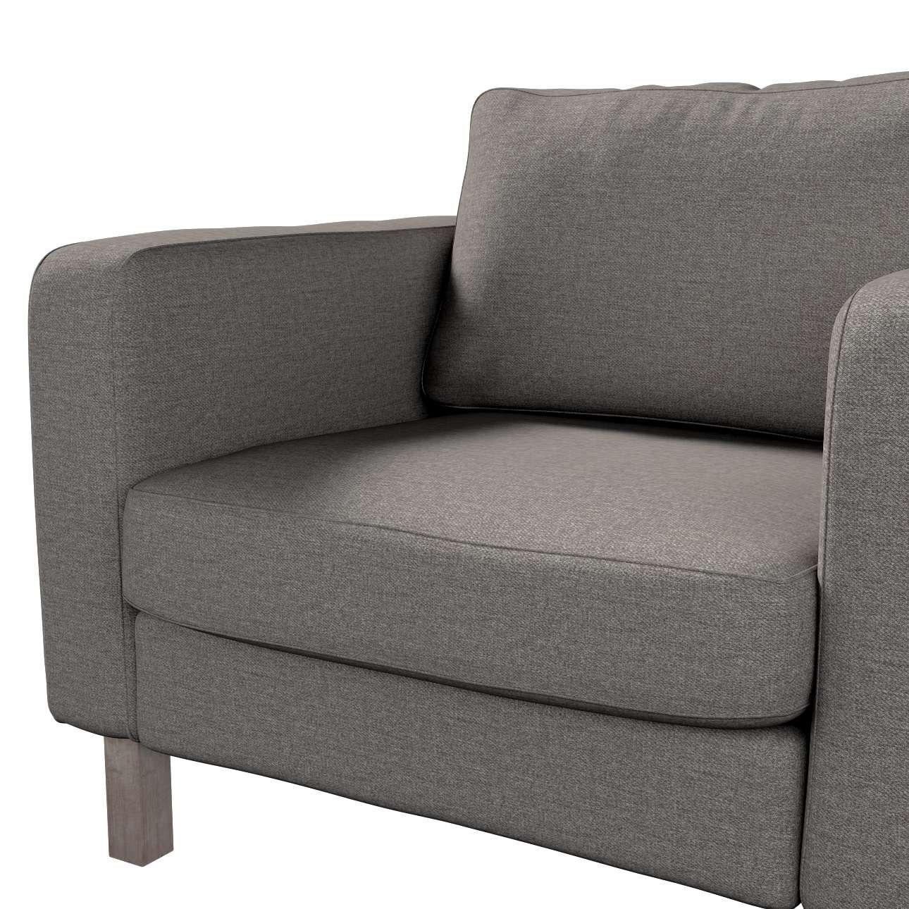 Pokrowiec na fotel Karlstad, krótki w kolekcji Edinburgh, tkanina: 115-77