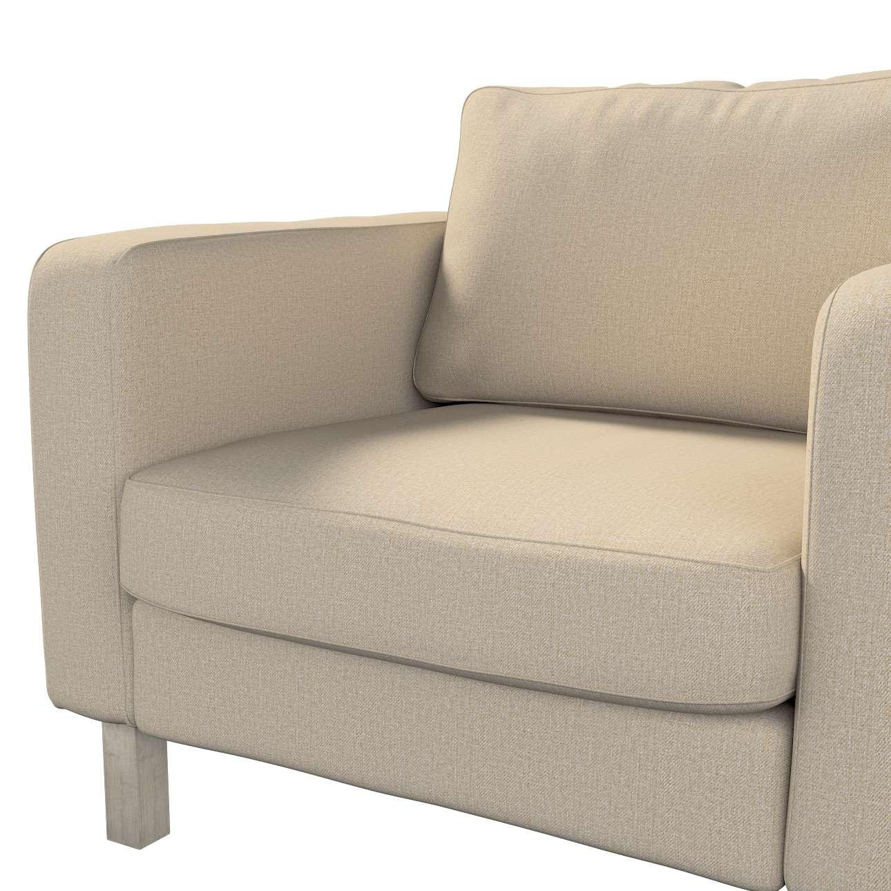 Pokrowiec na fotel Karlstad, krótki w kolekcji Edinburgh, tkanina: 115-78