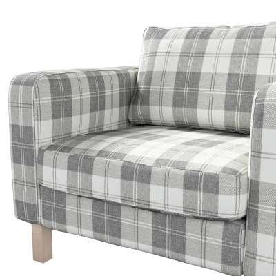 Pokrowiec na fotel Karlstad, krótki w kolekcji Edinburgh, tkanina: 115-79
