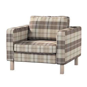 Karlstad armchair cover Karlstad armchair cover in collection Edinburgh, fabric: 115-80