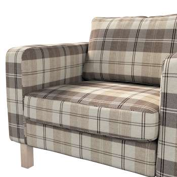Karlstad armchair cover in collection Edinburgh, fabric: 115-80