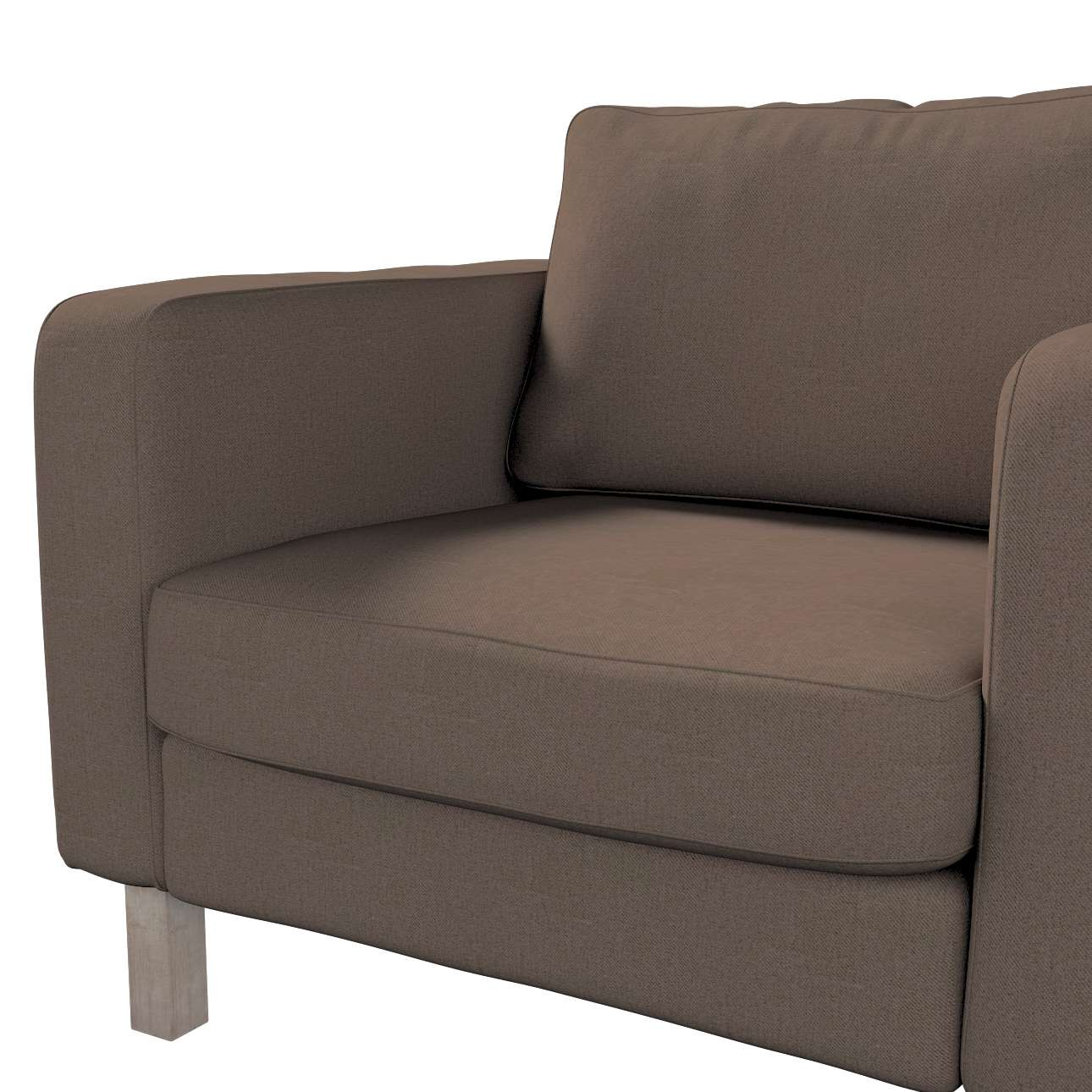 Karlstad armchair cover in collection Edinburgh, fabric: 115-85