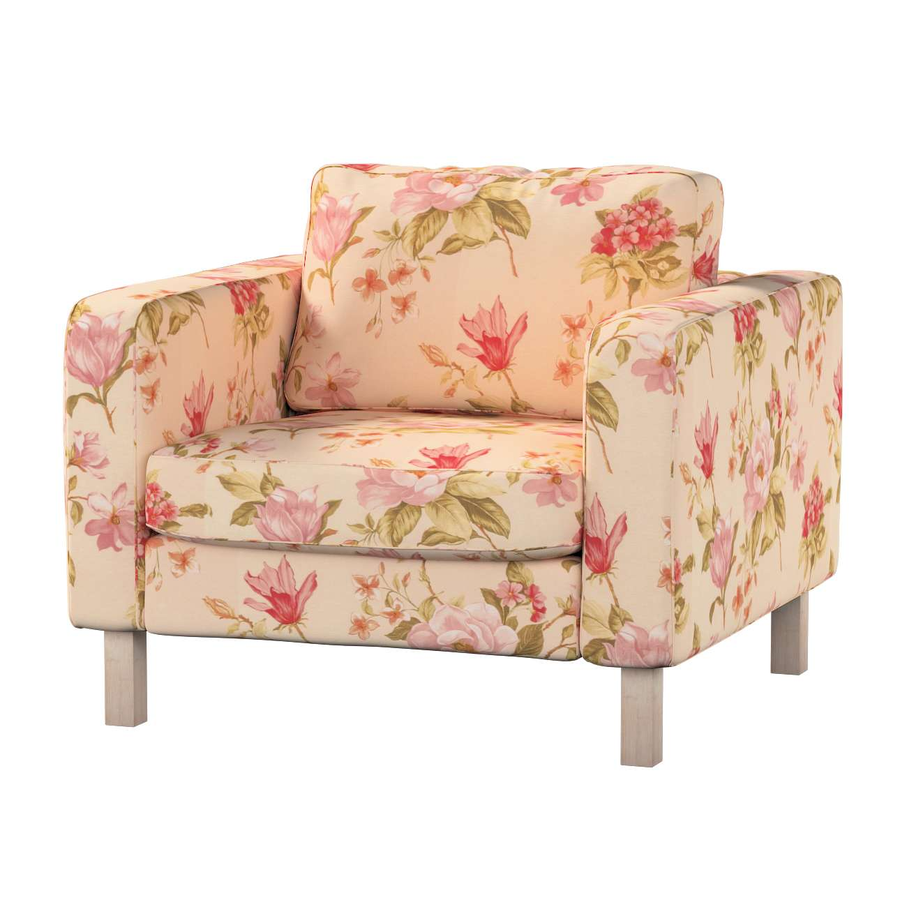 Karlstad armchair cover Karlstad armchair cover in collection Londres, fabric: 123-05