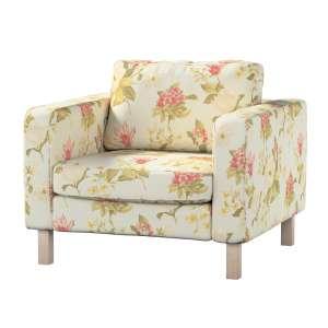 Pokrowiec na fotel Karlstad, krótki Fotel Karlstad w kolekcji Londres, tkanina: 123-65