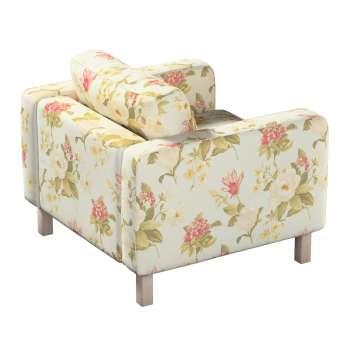 Pokrowiec na fotel Karlstad, krótki w kolekcji Londres, tkanina: 123-65