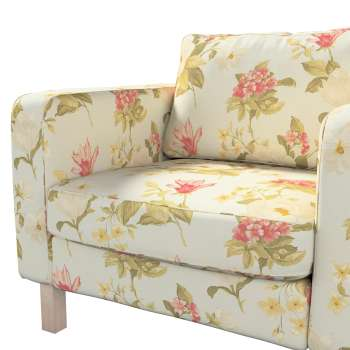 Karlstad armchair cover in collection Londres, fabric: 123-65
