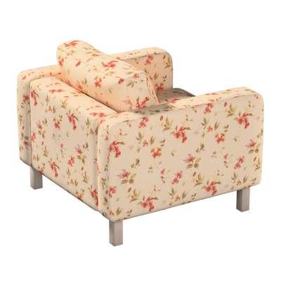 Pokrowiec na fotel Karlstad, krótki w kolekcji Londres, tkanina: 124-05