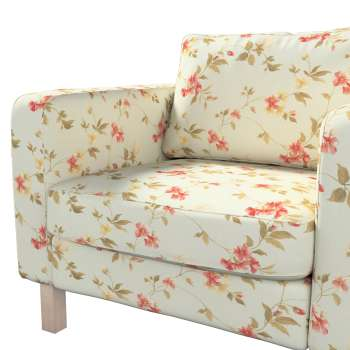 Karlstad armchair cover in collection Londres, fabric: 124-65
