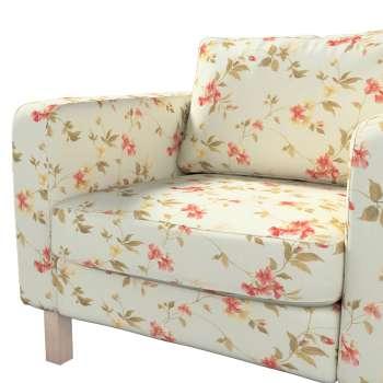 Pokrowiec na fotel Karlstad, krótki w kolekcji Londres, tkanina: 124-65