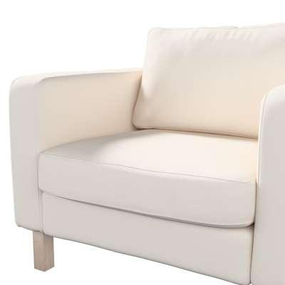 Pokrowiec na fotel Karlstad, krótki w kolekcji Etna, tkanina: 705-01