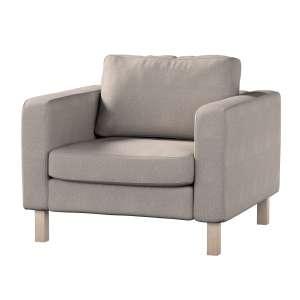 Pokrowiec na fotel Karlstad, krótki Fotel Karlstad w kolekcji Etna , tkanina: 705-09