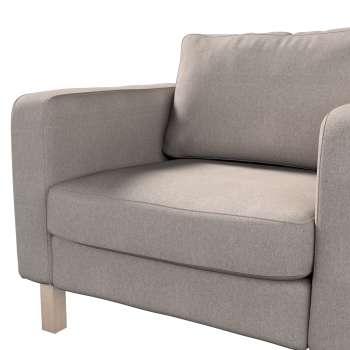 Karlstad armchair cover in collection Etna, fabric: 705-09
