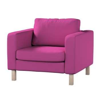 Pokrowiec na fotel Karlstad, krótki w kolekcji Etna , tkanina: 705-23