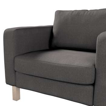 Karlstad armchair cover in collection Etna, fabric: 705-35