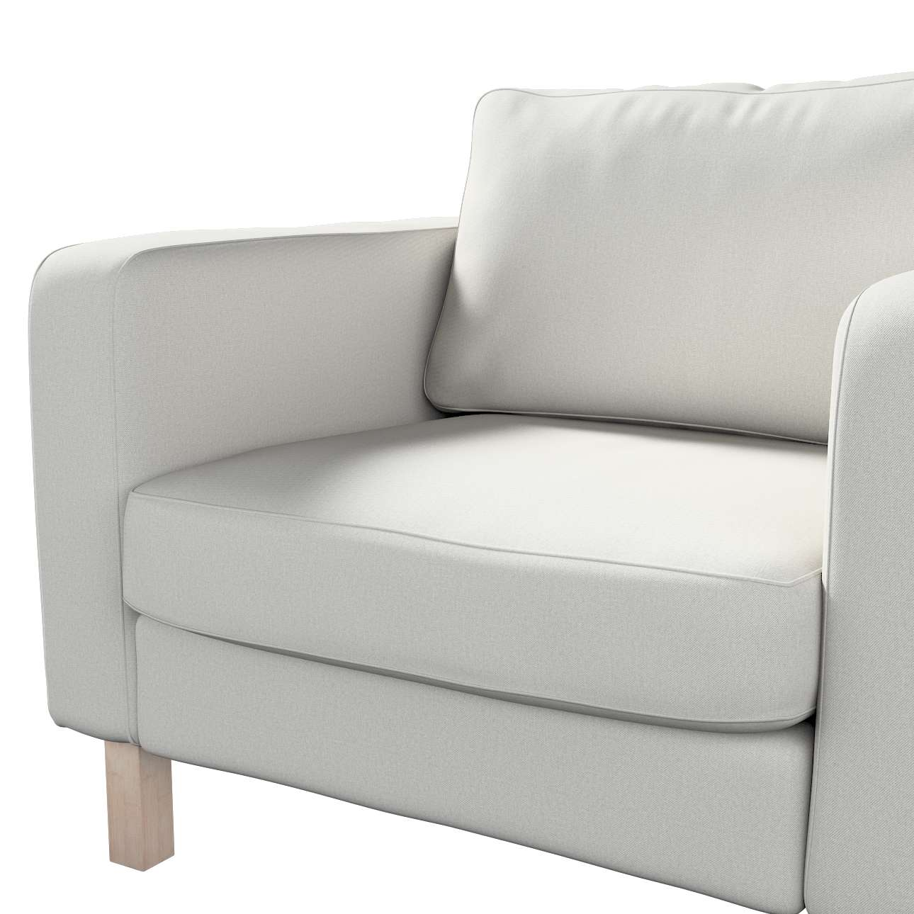 Karlstad armchair cover in collection Etna, fabric: 705-90
