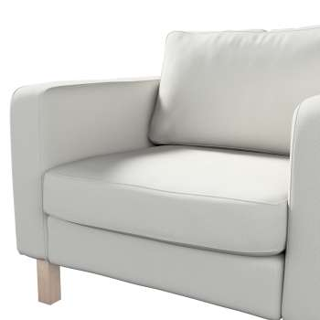 Pokrowiec na fotel Karlstad, krótki w kolekcji Etna , tkanina: 705-90