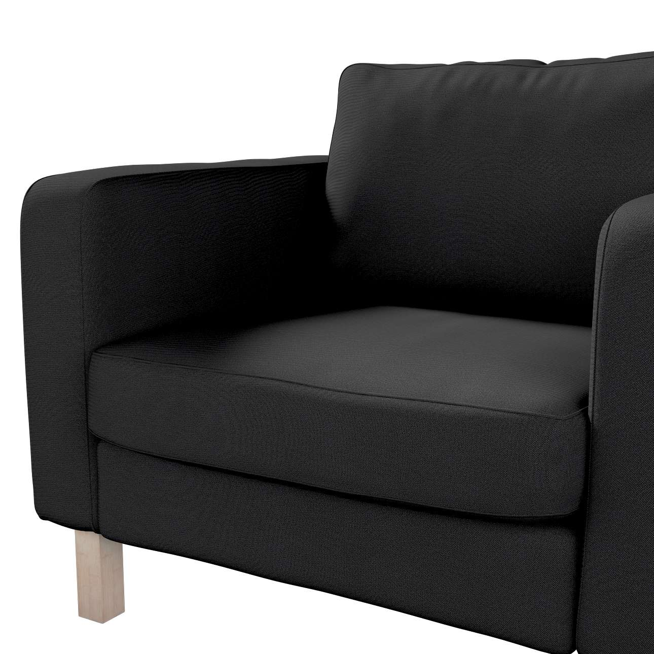 Karlstad armchair cover in collection Etna, fabric: 705-00
