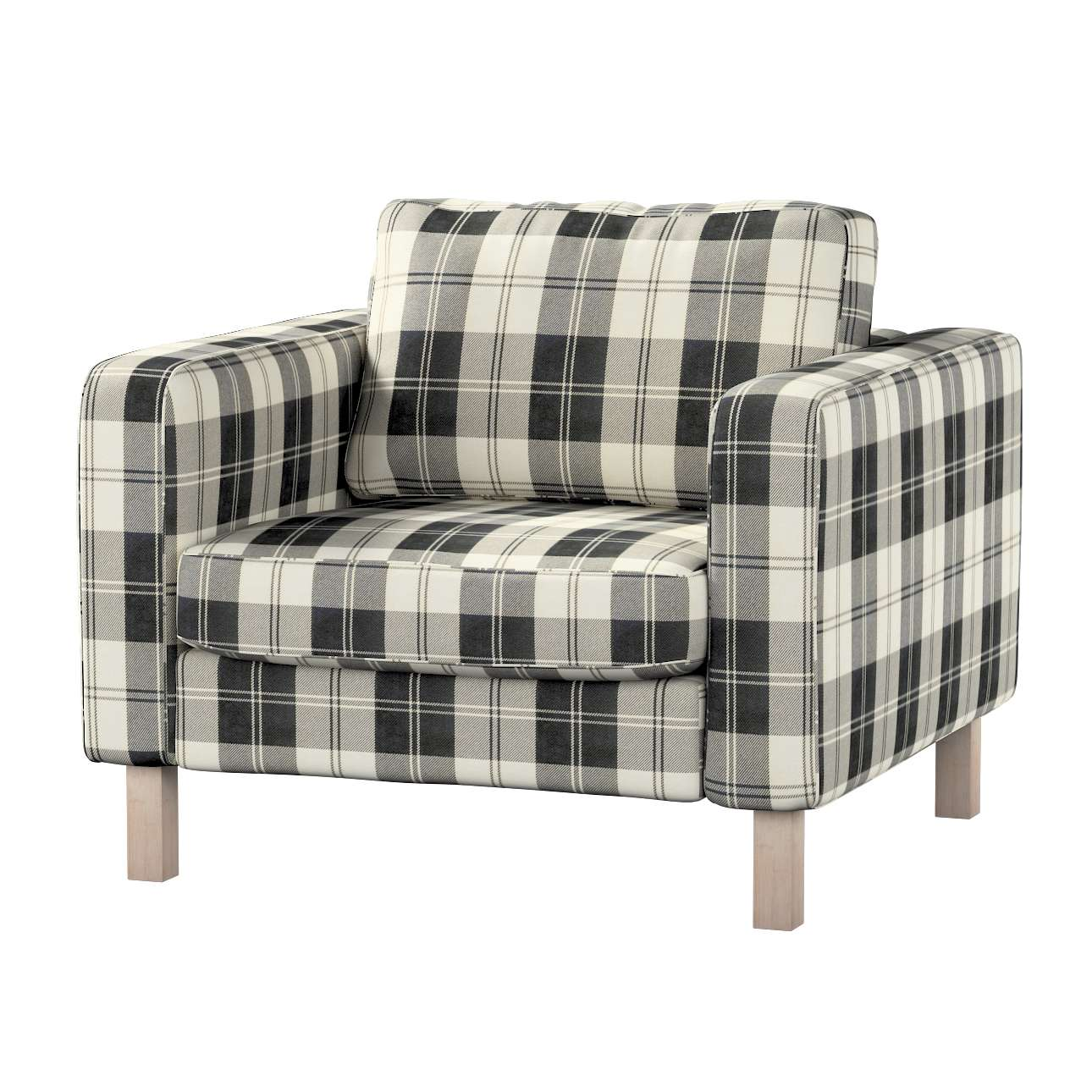 Karlstad armchair cover Karlstad armchair cover in collection Edinburgh, fabric: 115-74
