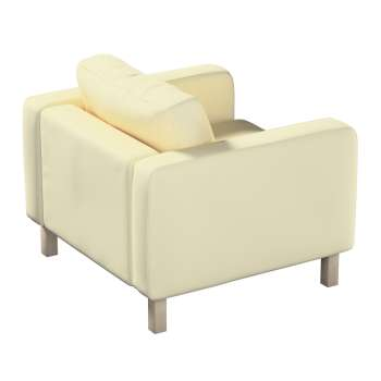 Karlstad armchair cover in collection Panama Cotton, fabric: 702-29