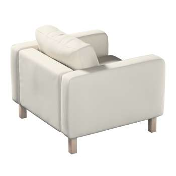 Karlstad armchair cover in collection Panama Cotton, fabric: 702-31