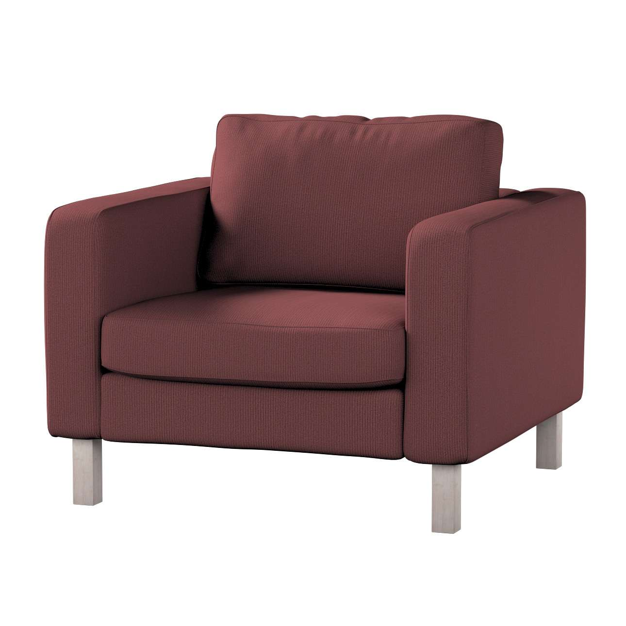 Karlstad armchair cover Karlstad armchair cover in collection Living, fabric: 103-56