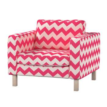 Karlstad armchair cover Karlstad armchair cover in collection Comics/Geometrical, fabric: 135-00